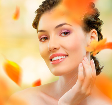 Cuidados com a pele e cabelo durante o outono