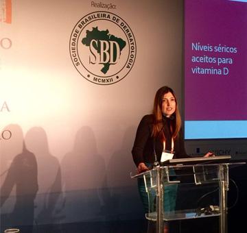 Dra. Flávia Addor palestra no 71º Congresso da Sociedade Brasileira de Dermatologia