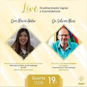 Live com professor Gilvan Alves, um dos maiores expoentes da dermatologia Brasiliense e Brasileira, de quem tive a honra de receber o convite.