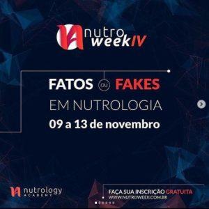 Participação como palestrante do Nutro Week IV, no módulo sobre nutracêuticos