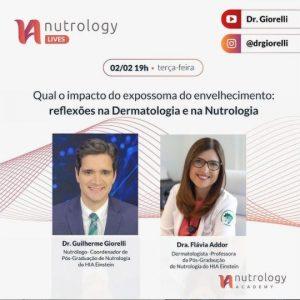 Live sobre o impacto do expossoma do envelhecimento, com o Dr. Guilherme Giorelli