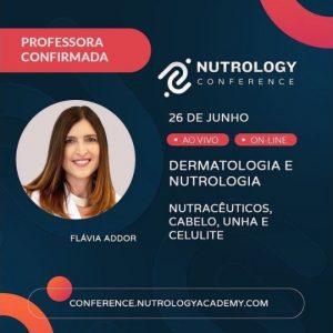 Professora do primeiro curso totalmente ao vivo da Nutrology Academy, com aula sobre Dermatologia e Nutrologia